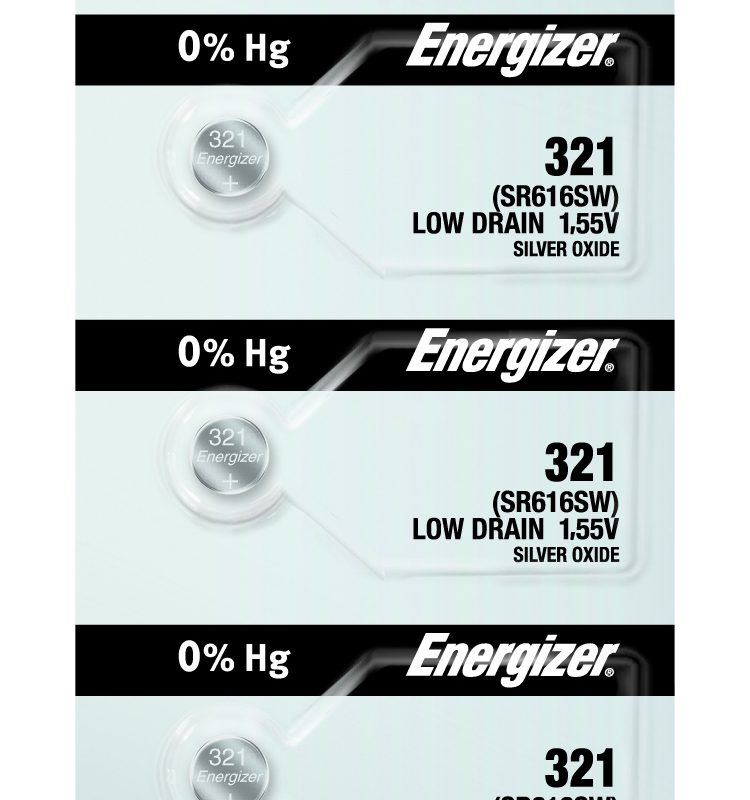 Photo of Energizer 321 Silver Oxide Button Cell, 5pc