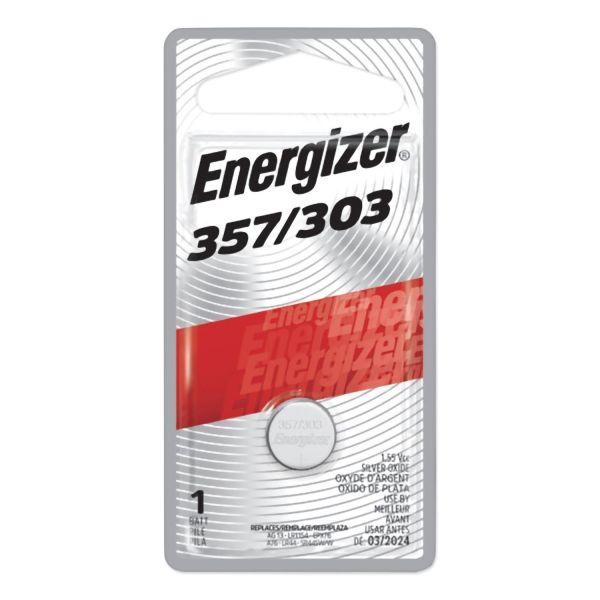 Photo of Energizer 357-303 Silver Oxide Button Cell, 1pk