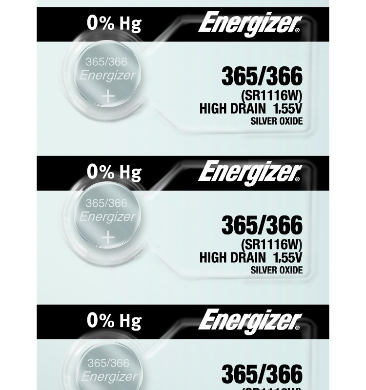 Photo of Energizer 365-366 Silver Oxide Button Cell, 5pc