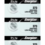 Photo of Energizer 373 Silver Oxide Button Cell, 5pc