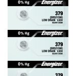Photo of Energizer 379 Silver Oxide Button Cell, 5pc