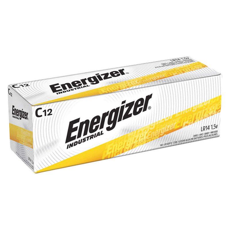 Photo of Energizer Industrial C Alkaline Battery, bulk