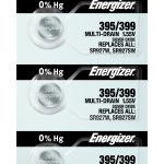 Photo of Energizer 395-399 Silver Oxide Button Cell, 5pc