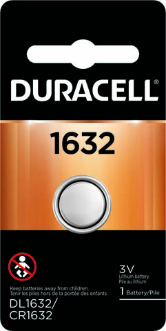 Photo of Duracell CR1632 Lithium Coin Cell, 1pk