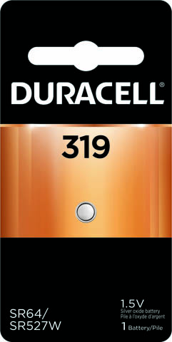 Photo of Duracell 319 Silver Oxide Button Cell, 1pk