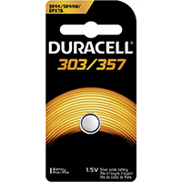 Photo of Duracell 303/357 Silver Oxide Button Cell, 1pk