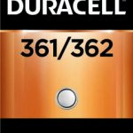 Photo of Duracell 361/362 Silver Oxide Button Cell, 1pk