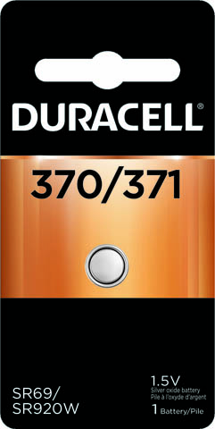 Photo of Duracell 370/371 Silver Oxide Button Cell, 1pk