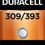 Photo of Duracell 309/393 Silver Oxide Button Cell, 1pk