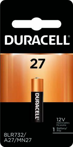 Photo of Duracell A27 Alkaline Battery, 1pk