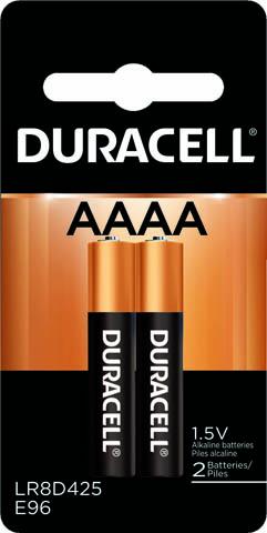 Photo of Duracell Ultra AAAA Alkaline Battery, 2pk