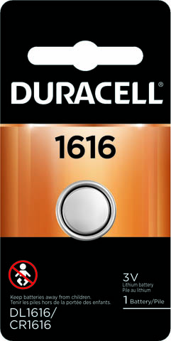 Photo of Duracell CR1616 Lithium Coin Cell, 1pk