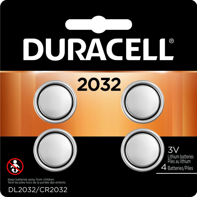 Photo of Duracell CR2032 Lithium Coin Cell, 4pk