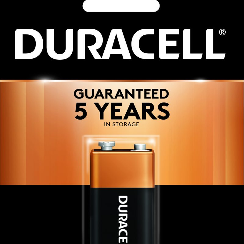 Photo of Duracell Coppertop 9V Alkaline Battery, 1pk