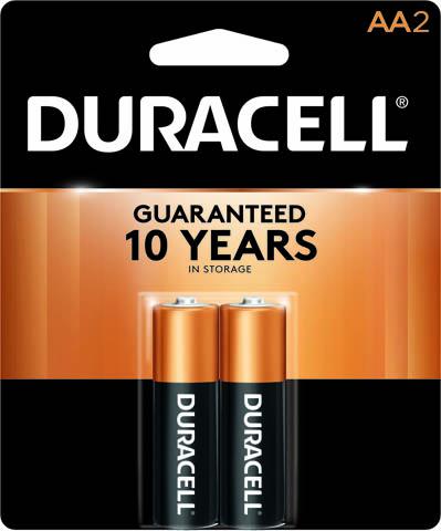 Photo of Duracell Coppertop AA Alkaline Battery, 2pk