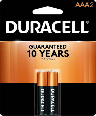 Photo of Duracell Coppertop AAA Alkaline Battery, 2pk