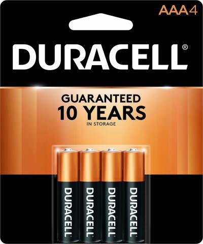 Photo of Duracell Coppertop AAA Alkaline Battery, 4pk