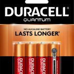Photo of Duracell Quantum AA Alkaline Battery, 4pk