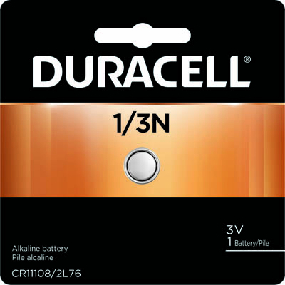 Photo of Duracell 1/3N Lithium Coin Cell, 1pk