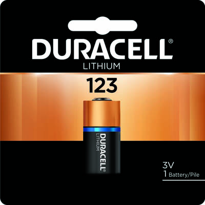 Photo of Duracell Ultra CR123 Lithium Battery, 1pk