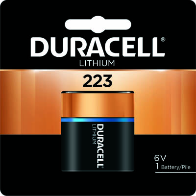 Photo of Duracell Ultra 223 Lithium Battery, 1pk