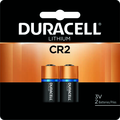 Photo of Duracell Ultra CR2 Lithium Battery, 2pk