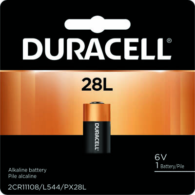 Photo of Duracell 28L Lithium Battery, 1pk