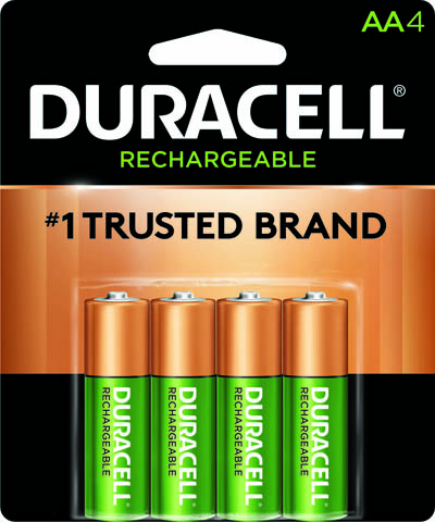 Photo of Duracell AA NiMh Rechargeable Battery, 4pk