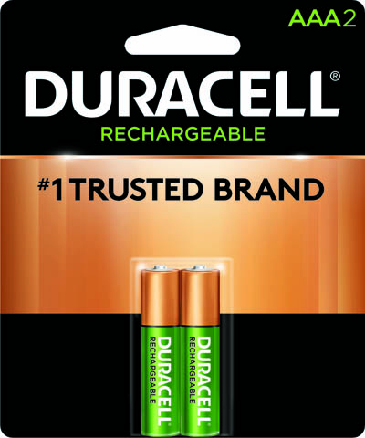 Photo of Duracell AAA NiMh Rechargeable Battery, 2pk
