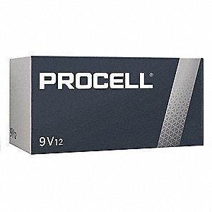 Photo of Duracell Procell 9V Alkaline Battery, bulk