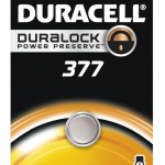 Photo of Duracell 377 Silver Oxide Button Cell, 1pk
