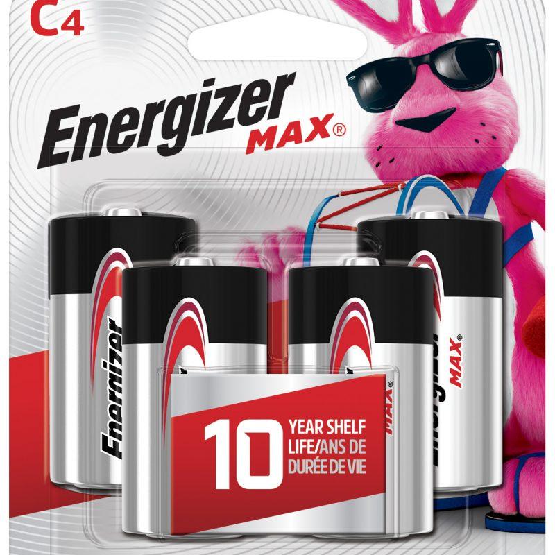 Photo of Energizer Max C Alkaline Battery, 4pk
