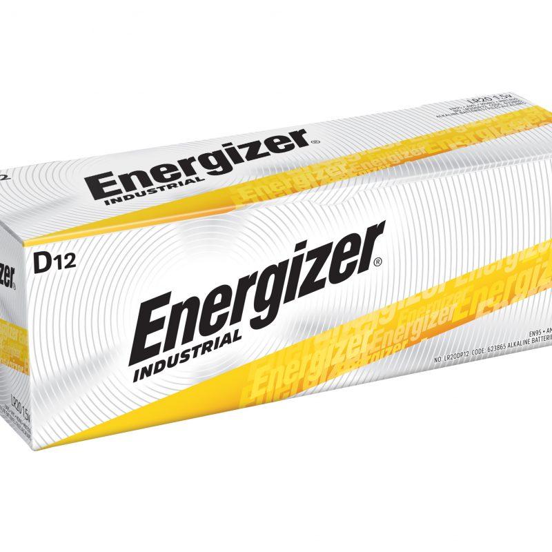 Photo of Energizer Industrial D Alkaline Battery, bulk