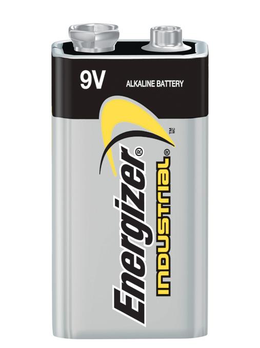 Photo of Energizer Industrial 9V Alkaline Battery, bulk