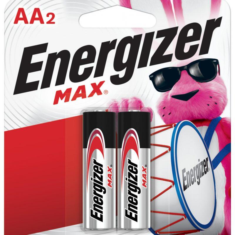 Photo of Energizer Max AA Alkaline Battery, 2pk