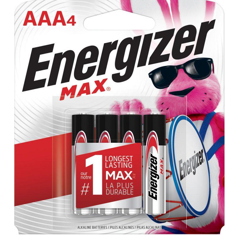 Photo of Energizer Max AAA Alkaline Battery, 4pk