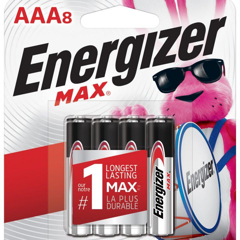 Photo of Energizer Max AAA Alkaline Battery, 8pk