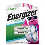 Photo of Energizer Recharge AAA NiMh Rechargeable Battery, 2pk