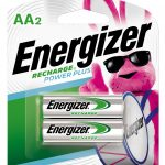 Photo of Energizer Recharge AA NiMh Rechargeable Battery, 2pk