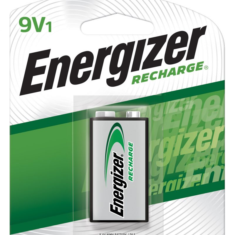 Photo of Energizer Recharge 9V NiMh Rechargeable Battery, 1pk