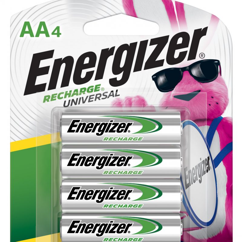 Photo of Energizer Recharge AA NiMh Rechargeable Battery, 4pk