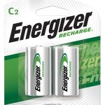 Photo of Energizer Recharge C NiMh Rechargeable Battery, 2pk