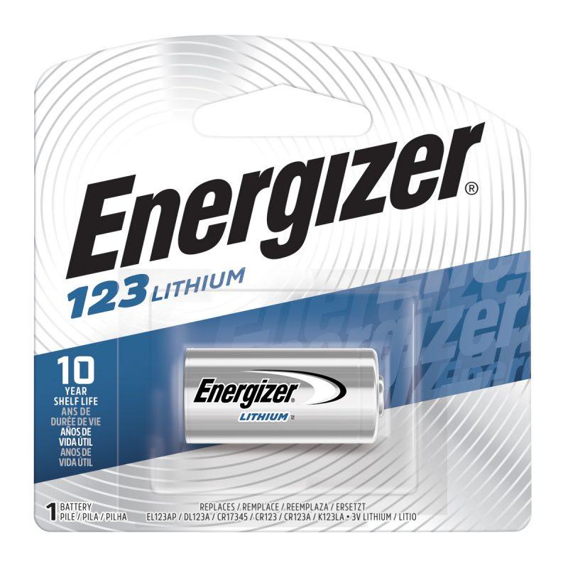 Photo of Energizer CR123 Lithium Battery, 1pk