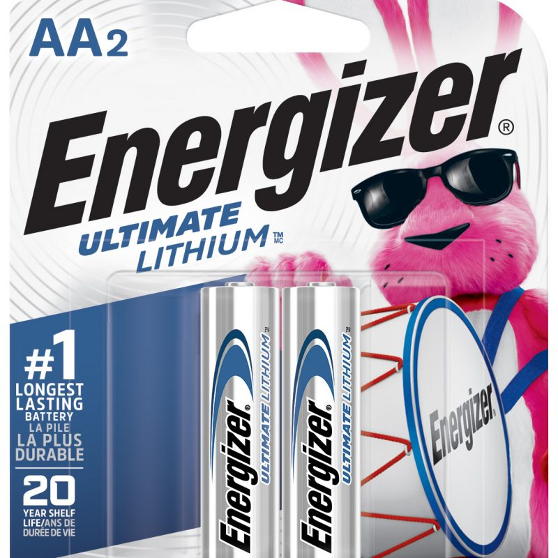 Photo of Energizer Ultimate AA Lithium Battery, 2pk