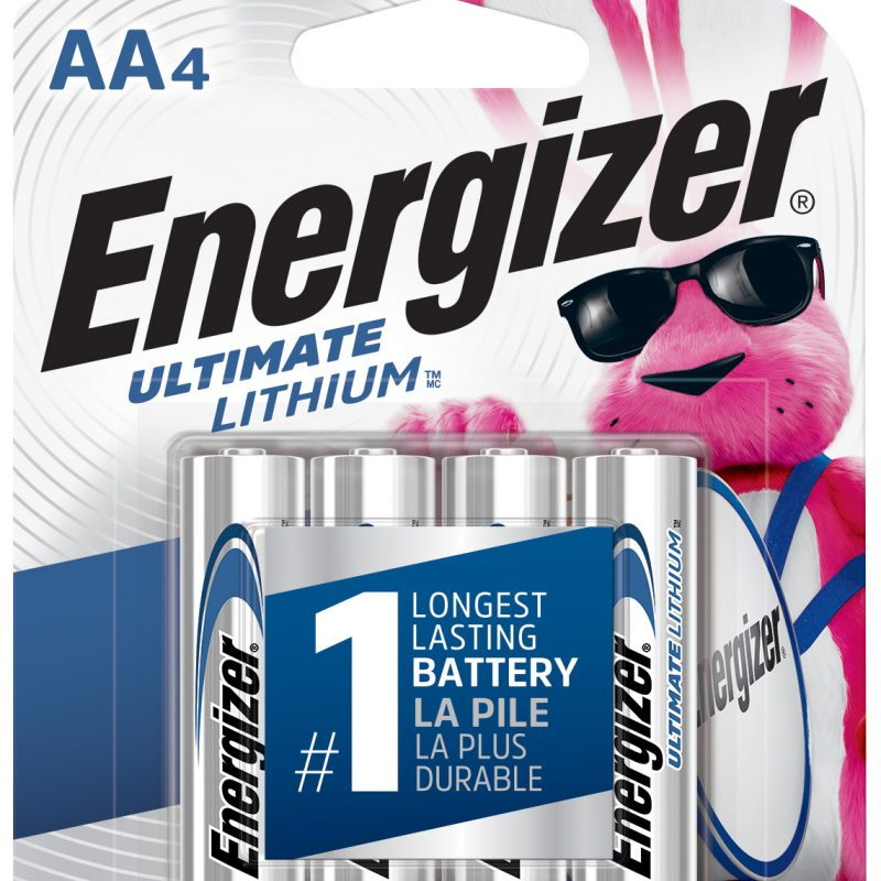 Photo of Energizer Ultimate AA Lithium Battery, 4pk
