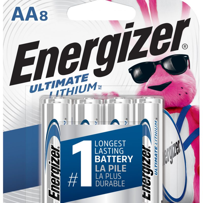 Photo of Energizer Ultimate AA Lithium Battery, 8pk