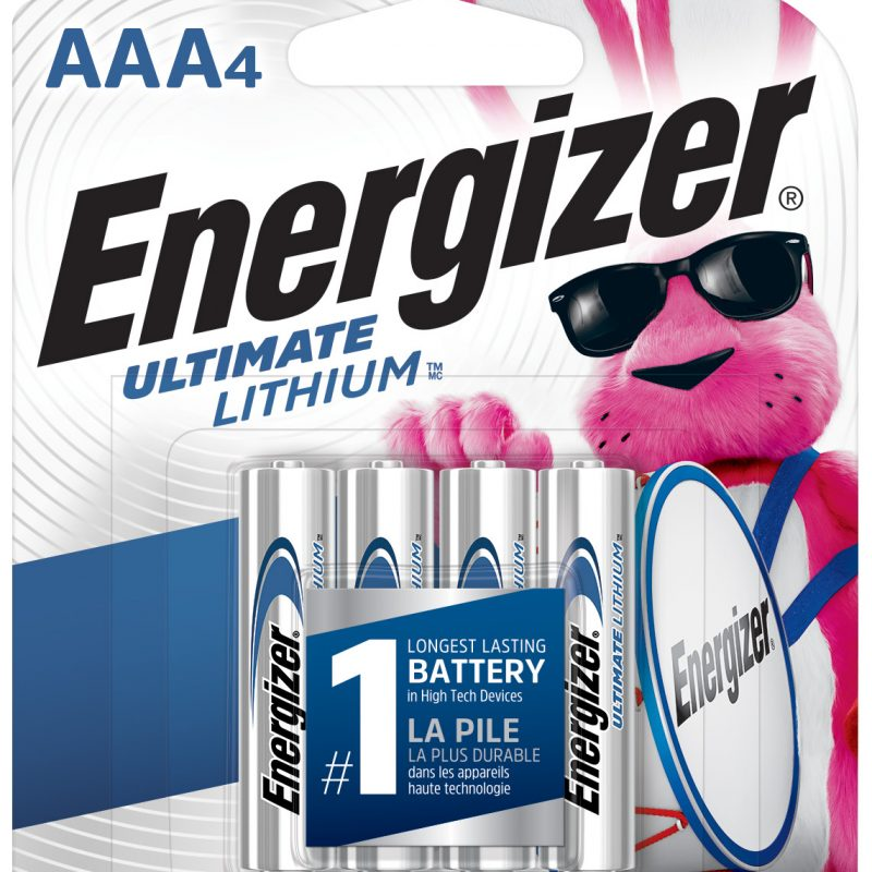 Photo of Energizer Ultimate AAA Lithium Battery, 4pk