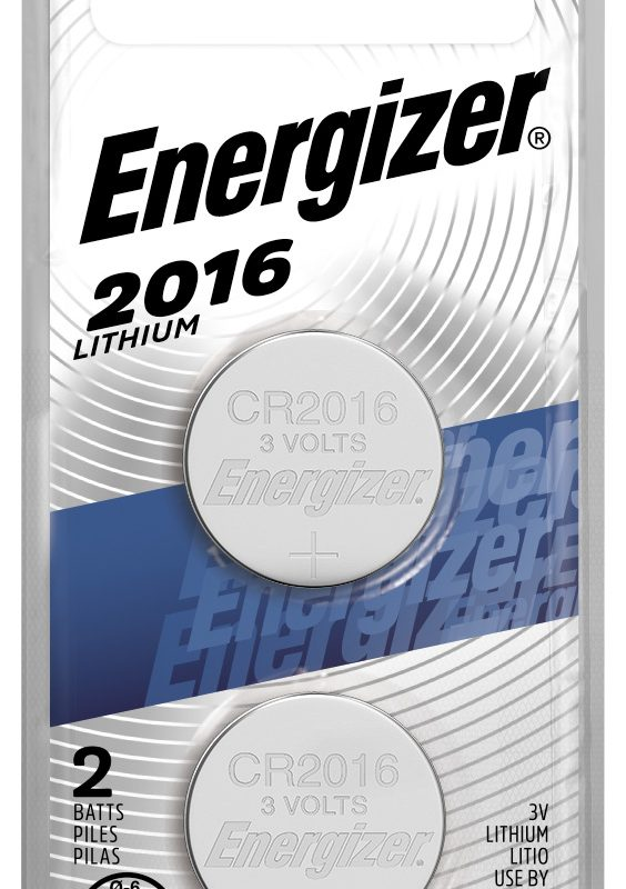 Photo of Energizer CR2016 Lithium Coin Cell, 2pk