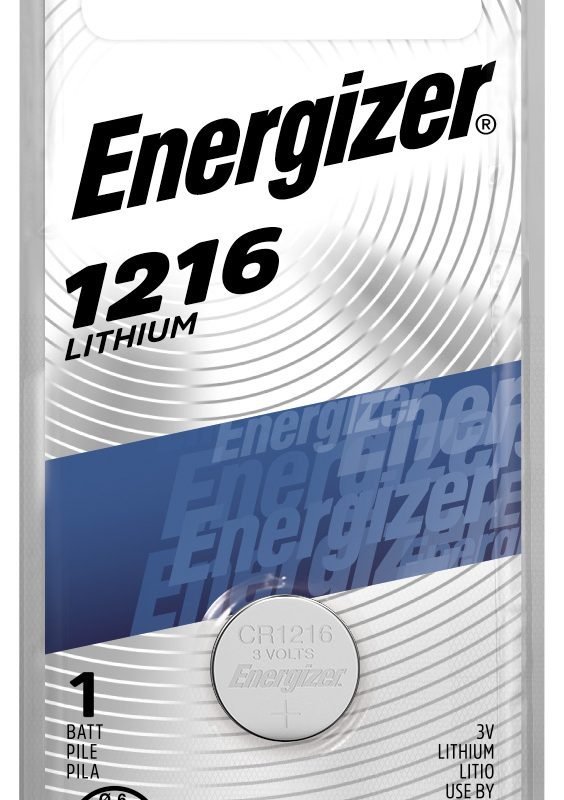 Photo of Energizer CR1216 Lithium Coin Cell, 1pk