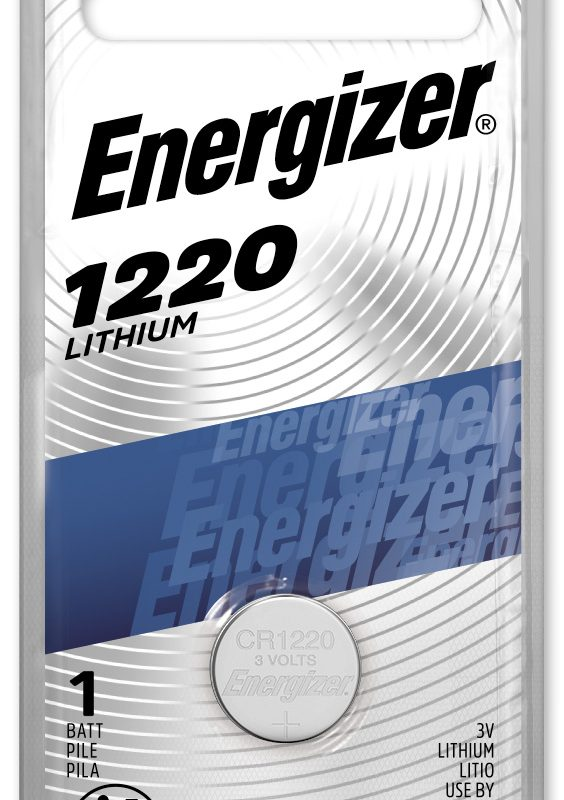 Photo of Energizer CR1220 Lithium Coin Cell, 1pk